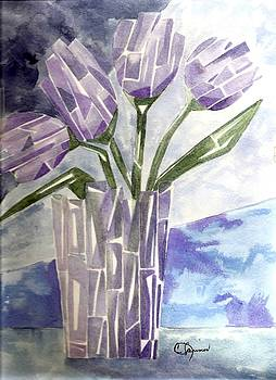 Crystal Tulips by Constance Larimer