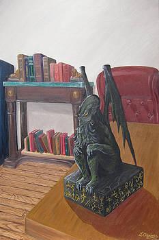 Cthulhu Idol by Jeffrey Oleniacz