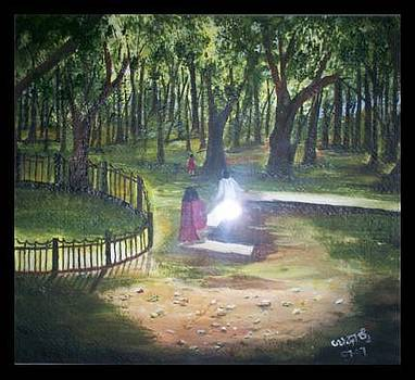 Cubbon Park  Bangalore by Usha Rai