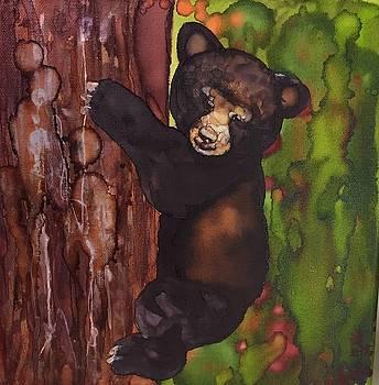 Cubby Climbing by Jean Blackmer