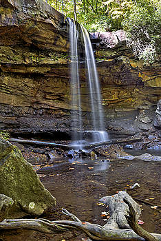 Cucumber Falls in Ohiopyle State Park - Pennsylvania by Brendan Reals