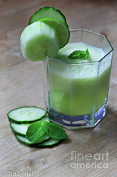 Cucumber, Lime and Mint by Tracy Hall