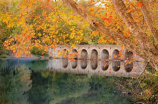 Cumberland Mountain State Park Bridge by Debbie Karnes
