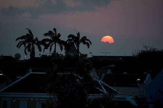 Curacao Sun Rise by Allen Carroll
