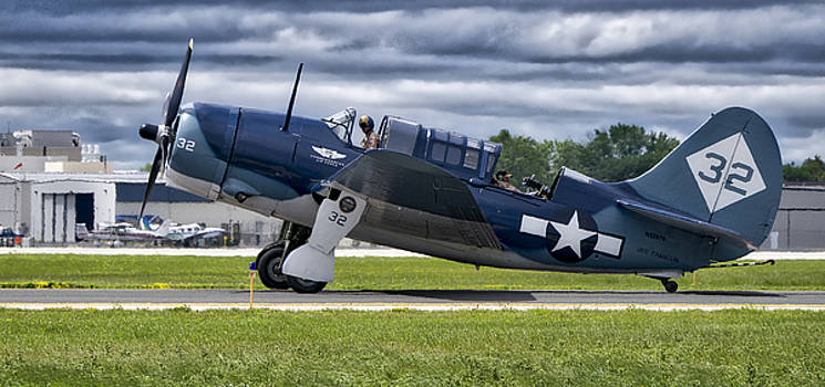 Curtiss Helldiver in Color by Steven Ralser