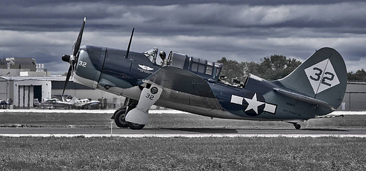 Curtiss Helldiver by Steven Ralser