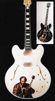 Custom Anniverssary Gibson Guitar by Dino Muradian