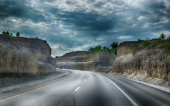 Cut Through the Mountain by Judy Hall-Folde