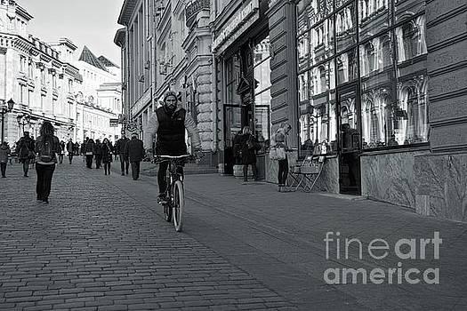 Cyclist by Magomed Magomedagaev