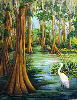 Cypress Swamp by Elaine Hodges
