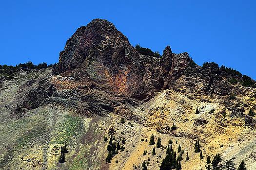 Frank Wilson - Dacite Lava Outcrop on Mount Lassen