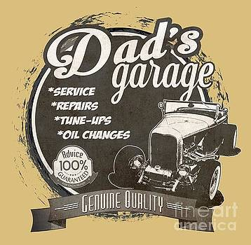 Dad's Garage-1932 Ford by Paul Kuras
