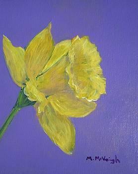Daffodil In Bloom by Marita McVeigh