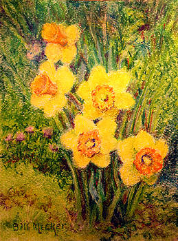 Daffodil Quintet by Bill Meeker
