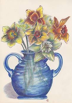 Daffodils by Daniela Johnson