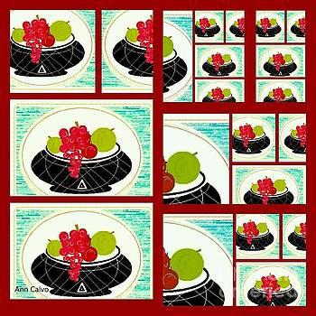 Daily Fruit 3 by Ann Calvo