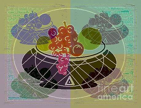 Daily Fruit 6 by Ann Calvo