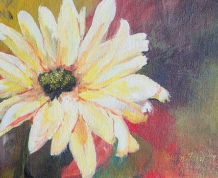 Daisy 3 of 3 Triptych by Susan Fisher