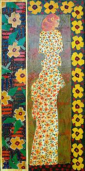 Daisy Kimono by Leslie Marcus