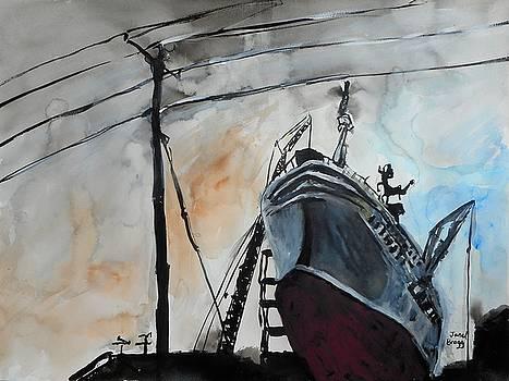 Dakota Creek Shipyard by Janel Bragg