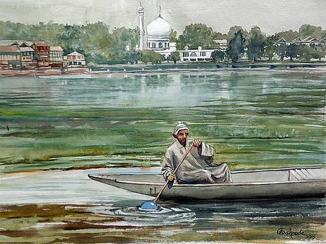 Dal lake Kashmir by Gourav Sheode