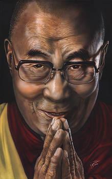 Dalai Lama by Wayne Pruse