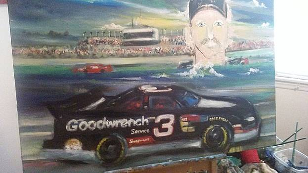 Dale Earnhardt by Mark Givens