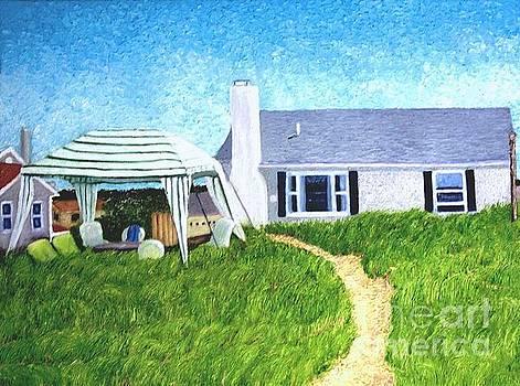 D'Alessandro Cottage, Sagamore Beach by Barbara Nolan
