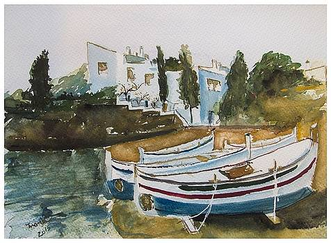 Dali house from Portlligat by Manuela Constantin
