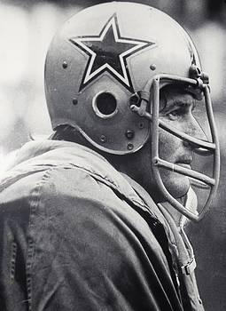 Dallas Cowboys Bob Lilly #74 Defensive Tackle by Donna Wilson