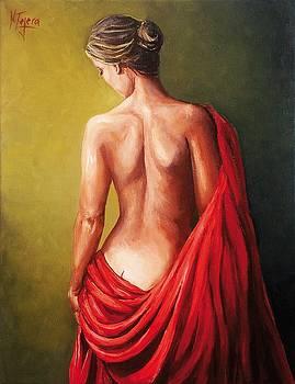 Dama de rojo by Natalia Tejera