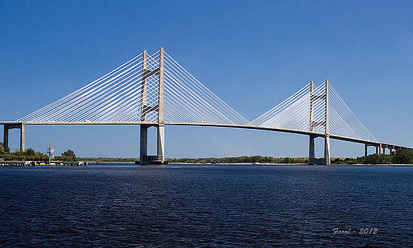 Dames Point Bridge by Farol Tomson