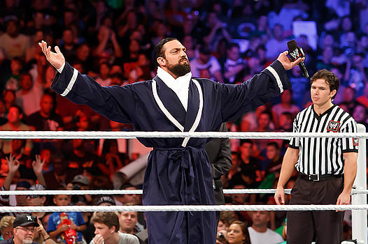 Damien Sandow by Wrestling Photos