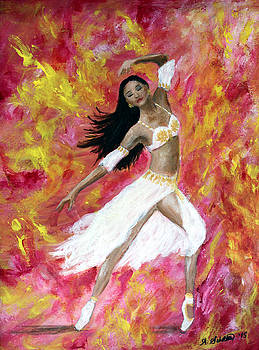 Dance Into the Fire by Amy Scholten