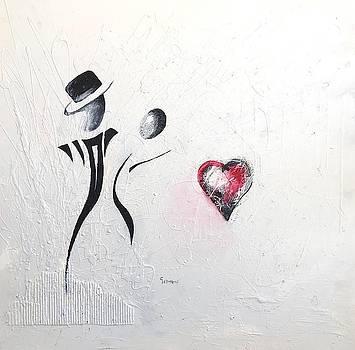 Dance of Lovers by Vital Germaine