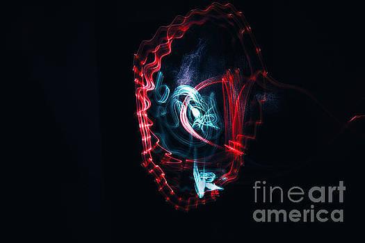Dance Of The Light 3 by Bener Kavukcuoglu