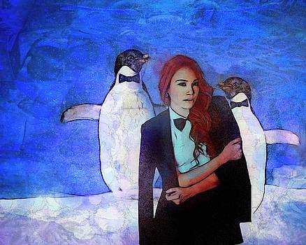 Dances With Penguins by Terry Fleckney