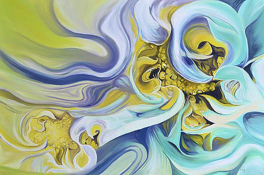 Dancing Blooms by Karen Hurst