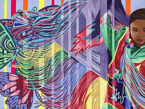 Dancing Butterflies by Tyrone Whitehawk