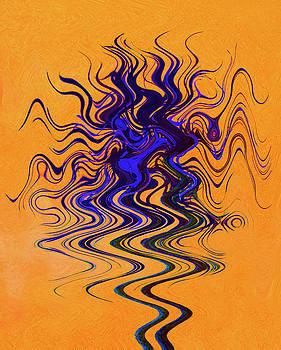 Dancing Colors 3 by Margaret Saheed