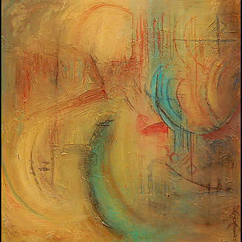 Dancing Colors.  SOLD by Mary Jean Henke
