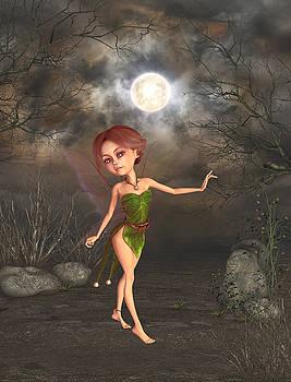 Dancing in the moonlight by John Junek
