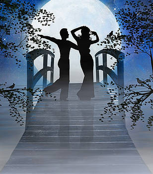 Dancing in the Moonlight by Nina Bradica