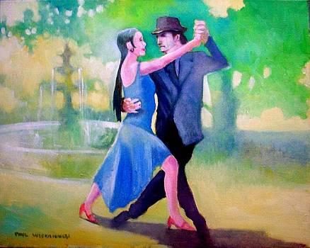 Dancing In The Park by Paul Weerasekera