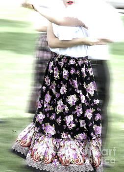 Dancing of Flowers  by Steven Digman