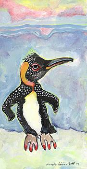 Dancing Penguin by Michelle SPiziri