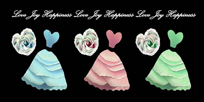 Dancing The Love Dance - Love Joy Happiness No. 3 by Jacqueline Migell
