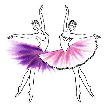 Irina Sztukowski - Dancing Tutus in Purple and Pink