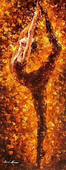 Dancing Twist - PALETTE KNIFE Oil Painting On Canvas By Leonid Afremov by Leonid Afremov