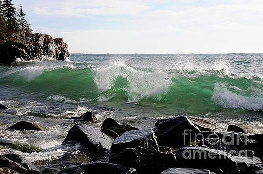 Dancing Waves by Sandra Updyke